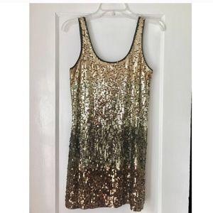 Express Sequin Mini Dress